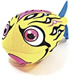 Water Bomb Rocket Fish Yellow Fish Water Sponge Accurate Toss Flying Pool/Beach Toy