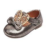 Chaussures, Malloom Bambin Bébé Oreilles de lapin Bowknot Décontractée Baskets Chaussures mignonnes (EU:15, Or)