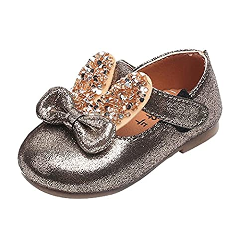 Chaussures, Malloom Bambin Bébé Oreilles de lapin Bowknot Décontractée Baskets Chaussures mignonnes (EU:18, Or)