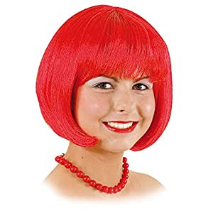 Perruque coupe au bol sexy Lola rouge carnaval vamp femme perruque féminine perruque de carnaval perruque carnaval Bob