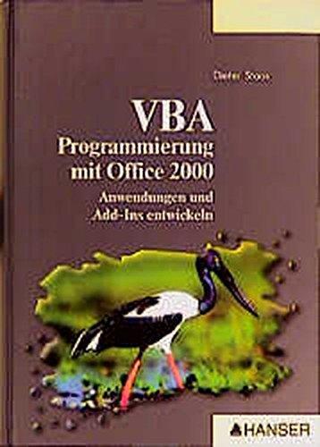 VBA-Programmierung mit Office 2000.