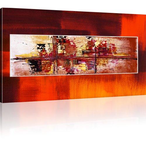 Abstraktion Chaos Kunstdruck auf Leinwand Bilder besser als Poster Wandbild Abstrakt