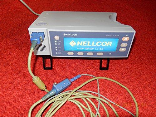 NELLCOR OxiMax N-600 SP02 PULSOXIMETER mit Fingersensor,geprüft OK,guter Zustand