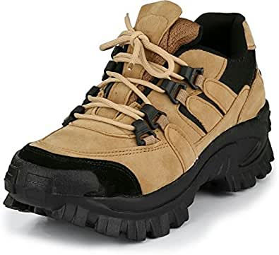 Afrojack Men's Powerhouse Outdoor Shoes (6, Beige)