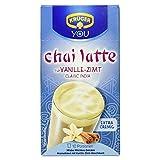 Krüger Chai Latte Vanille-Zimt Milchtee-Getränk , 2er Pack (2 x 250 g Packung)