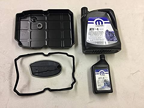 MOPAR DORMAN SH Automatic Transmission Oil Pan & Service KIT 6L ATF+4 Jeep Grand Cherokee WJ 2.7CRD