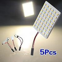 SODIAL (R) 5pcs Car Interior Light Panel 48 SMD LED