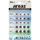 Arcas 127 92000 - Pack de 20 piles 1.5 V