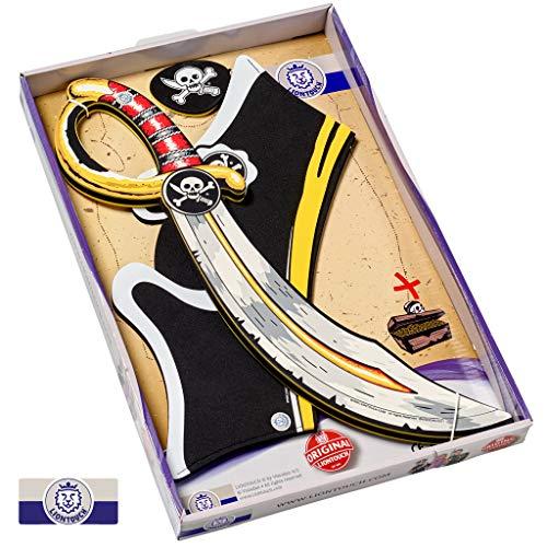 Liontouch 29410LT Piraten Kostüm Spielzeug Set | Schaumstoff Schwert, Hut und ()