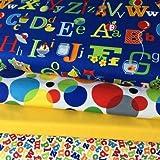Kinderzimmer Stoff Bundle–ABC Alphabet