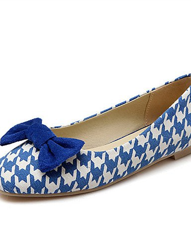 XAH@ Chaussures Femme-Mariage / Habillé / Décontracté / Soirée & Evénement-Noir / Bleu / Rouge-Talon Plat-Nouveauté-Plates-Similicuir red-us10.5 / eu42 / uk8.5 / cn43