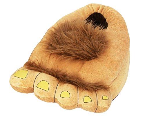 Kostüme Jolly (Minetom Unisex Herbst Winter Tierhausschuhe Plüsch Hausschuhe Pantoffeln Kostüme Warme Puschen ( Bigfoot M ( EU 35-38 ))