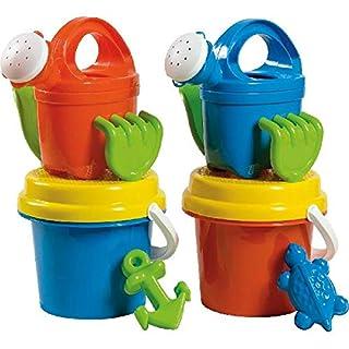 AK Sport Uni Bucket Set (6 Pieces) 2 Assorted