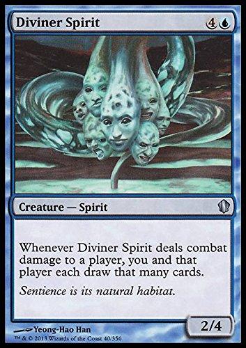 Magic: the Gathering - Diviner Spirit - Spirito Divinatore - Commander 2013 Edition