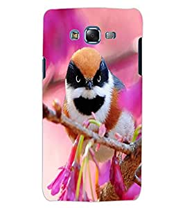 ColourCraft Beautiful Bird Design Back Case Cover for SAMSUNG GALAXY J5