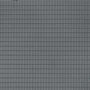 Auhagen 52426 - Kit de Modelado para Azulejos de Techo, Color Gris Oscuro