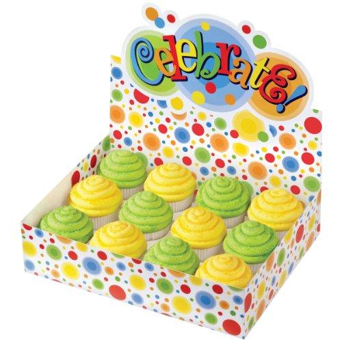 Wilton Kreise Display Cupcake Box–Mehrfarbig