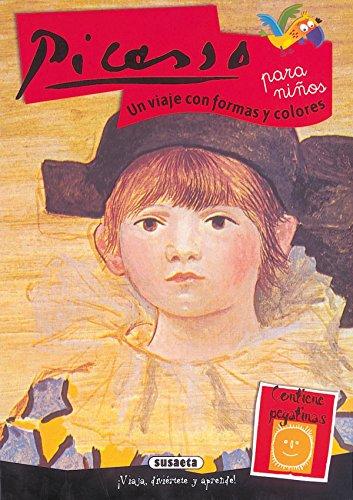 Picasso Para Niños. Un Viaje Con Formas Y Col (Arte Para Niños) por Proyectos editoriales Imaginerío