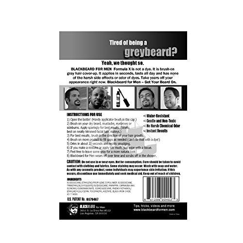 Blackbeard-for-Men-temporary-brush-on-colour-12ml-040oz-Dark-Brown