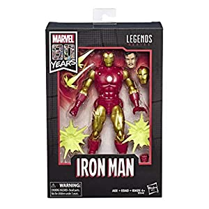 Marvel Legends - 80 aniversario Iron Man (Alex Ross) (Hasbro E6346E48)