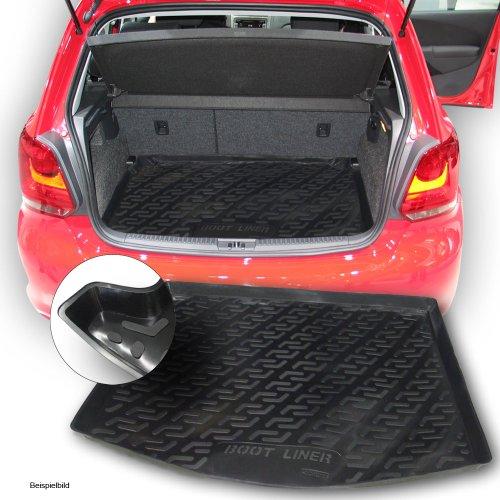 Bär-AfC SIXTOL Auto Kofferraumschutz für die Volkswagen Golf V Variant Maßgeschneiderte antirutsch Kofferraumwanne für den sicheren Transport von Einkauf, Gepäck und Haustier
