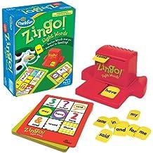 Think Fun Zingo Sight Words - Juego de mesa para aprender a leer (en inglés)