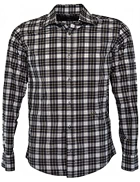 YES ZEE by ESSENZA camicia a quadri uomo (L)