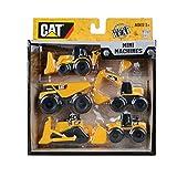 Toy State 34601 - Caterpillar Fahrzeugset - 5 Baufahrzeuge in einem Set