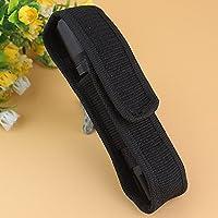 L-FENG-UK LED Flashlight Torch Nylon Holster Cover Pouch Holder