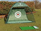 Professional Golf Practice Net With Over Sized Target Sheet and Extra Fixing Loops for Double Strength, Train Like a Pro in the Comfort of your own Garden and see the results on the Golf Coarse