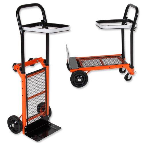 TecTake Diable Chariot sac brouette - diverses modèles - (Chariot pliable | 400713)