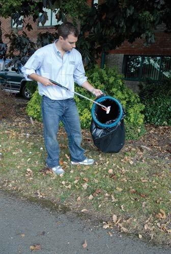 New Garbage Bag Hoop & einfache Anwendung Material Aufbewahrung Papierkorb Ring