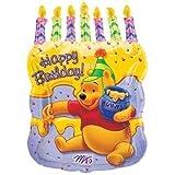 Winnie the Pooh Geburtstagskuchen Supershape Folienballon