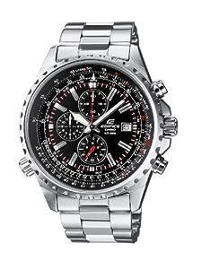 Reloj de caballero CASIO EF-527D-1AVEF Edifice de cuarzo, correa de acero inoxidable color varios colores (con cronómetro) de Casio