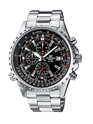 Casio Edifice – Men's Analogue Watch with Solid Stainless Steel Bracelet – EF-527D-1AVEF