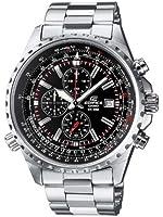 Casio Edifice EF-527D-1AVEF Men's Analog Quartz Watch with Chronograph, Steel Bracelet and Date Indicator