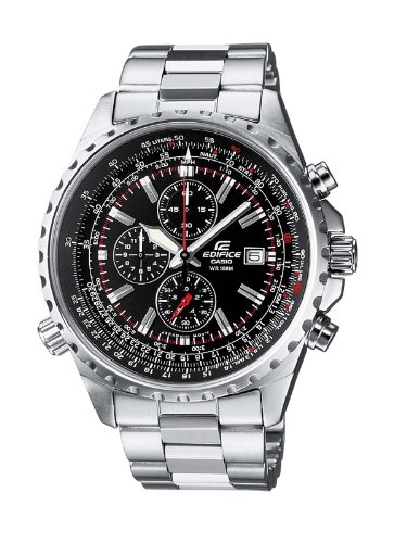 Casio-Edifice--Mens-Analogue-Watch-with-Solid-Stainless-Steel-Bracelet--EF-527D-1AVEF