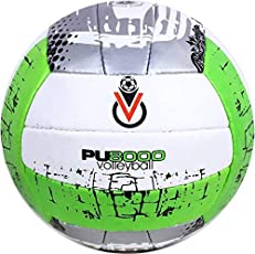 gyronax pu Green 8000 Volleyball - Size: 4  (Pack of 1, Green)