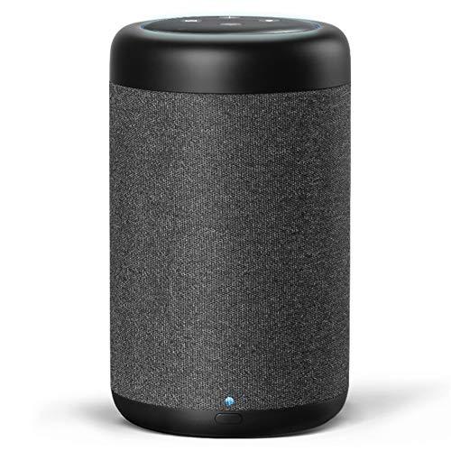 Tragbarer Lautsprecher für Dot 3. Generation und andere Smart-Geräte, GGMM D7 Dot Zubehör, Akku mit 7 Stunden Spielzeit, erhöht die Lautsprecher-Lautstärke um 3 mal, 360° Sound (Punkt nicht enthalten)