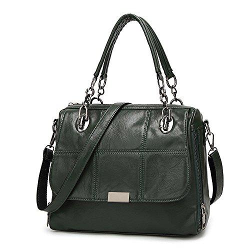 e7224631658d2 Frauen Leder Handtaschen Damen Designer Henkeltasche Mädchen Schulter  Crossbody Messenger Tasche Top-Griff Taschen für