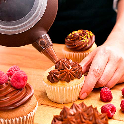 6 STÜCKE Russische Blume Düsen, Blume Nägel Backen Piping Düse für Kuchen Cupcakes Cookies, Kuchen Dekorieren Tipps
