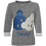 BEZLIT Mädchen Pullover Bären Motiv Langarm Sweatshirt 21581 Grau Größe 152