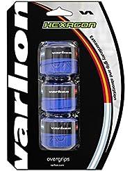 Varlion Hexagon - Overgrip de pádel, color azul