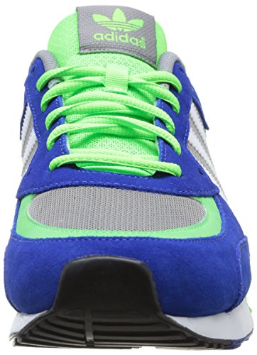 adidas Zx 850, Baskets mode mixte adulte Gris (Ch Solid Grey/Running White Ftw/Neon Green)