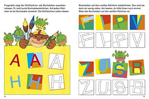 Fragenbär Vorschule: Buchstabenspiele und erstes Schreiben (Lerne mehr mit Fragenbär) - 7
