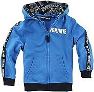 Fortnite Logo Hombre Chaqueta con Capucha Azul,