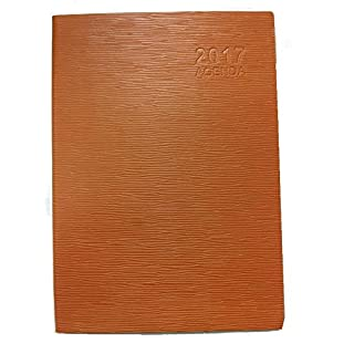 Weekly Agenda 2017 25 x 18 cm Elephant Leather Effect Cover
