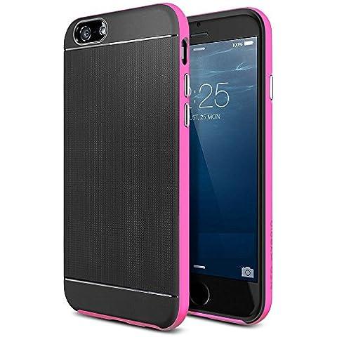 Ultra fina estilo Spigen Neo Hybrid Apple iPhone 6S/6S Plus funda con libre Protector de pantalla (Popular iphone 6caso), plástico, rosa, 6 / 6s