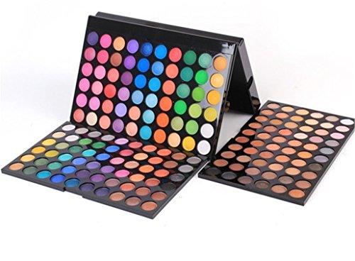 Palette de Fard à paupières, FantasyDay 252 Couleurs Professionnelle Shimmer Matte Ultra Pigmenté Bases de Ombre à paupières Maquillage Palette Cosmétique Set - Eyeshadow Makeup Beauty Kit