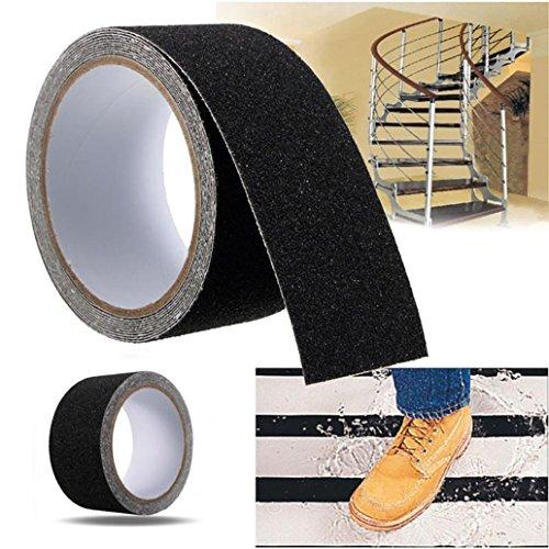 Klebeband, rutschfest, für Badezimmer, Treppen, Schwimmbecken, Heimwerker, Warnstreifen 5 * 500cm durchsichtig